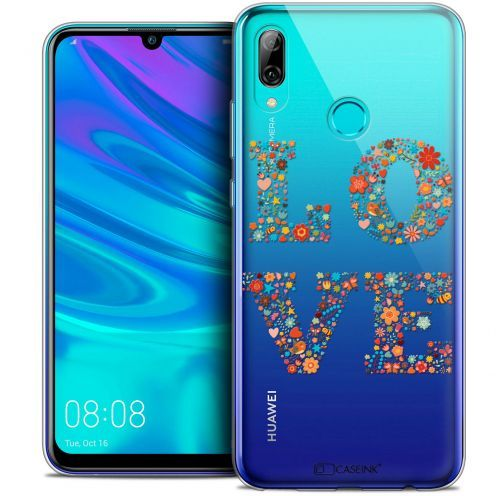 "Carcasa Crystal Gel Extra Fina Huawei P Smart 2019 (6.21"") Summer Love Flowers"