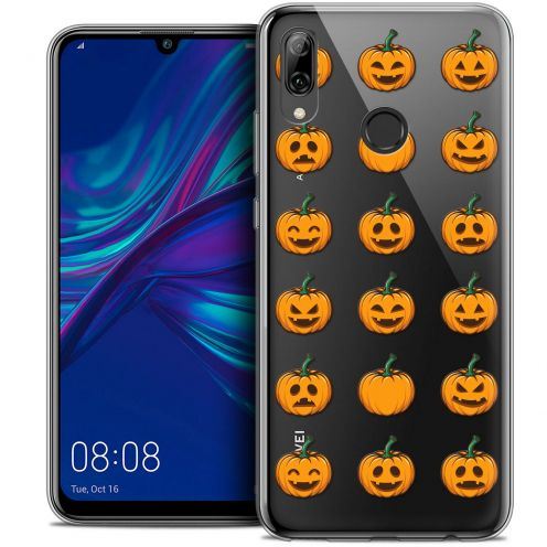 "Carcasa Crystal Gel Extra Fina Huawei P Smart 2019 (6.21"") Halloween Smiley Citrouille"