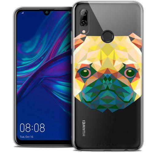 "Carcasa Crystal Gel Extra Fina Huawei P Smart 2019 (6.21"") Polygon Animals Perro"