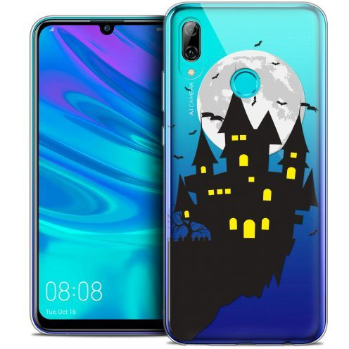 "Carcasa Crystal Gel Extra Fina Huawei P Smart 2019 (6.21"") Halloween Castle Dream"