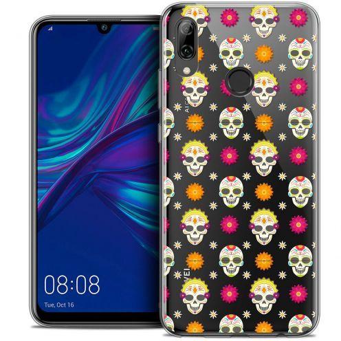 """Carcasa Crystal Gel Extra Fina Huawei P Smart 2019 (6.21"""") Halloween Skull Halloween"""