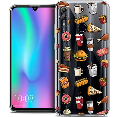 """Carcasa Crystal Gel Extra Fina Huawei Honor 10 LITE (5.8"""") Foodie Fast Food"""