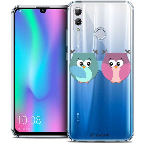 "Carcasa Crystal Gel Extra Fina Huawei Honor 10 LITE (5.8"") Love Hibous à deux"