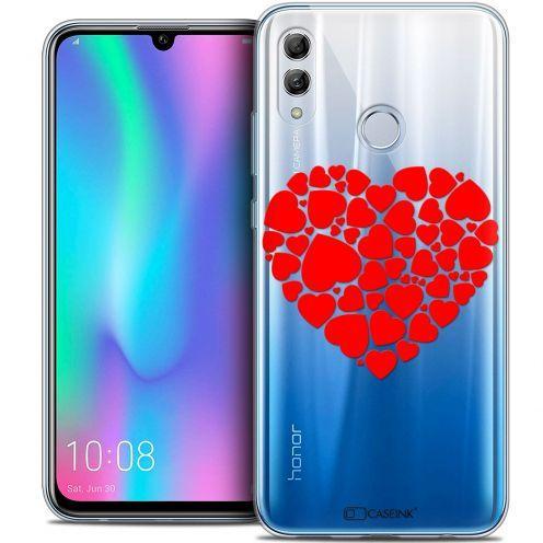 """Carcasa Crystal Gel Extra Fina Huawei Honor 10 LITE (5.8"""") Love Coeur des Coeurs"""