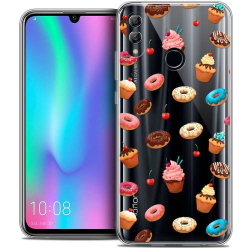"""Carcasa Crystal Gel Extra Fina Huawei Honor 10 LITE (5.8"""") Foodie Donuts"""