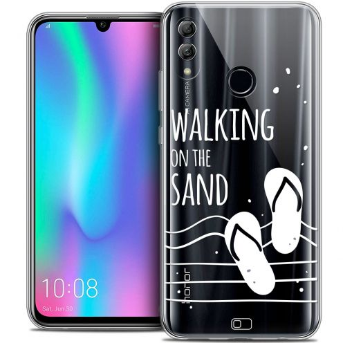 "Carcasa Crystal Gel Extra Fina Huawei Honor 10 LITE (5.8"") Summer Walking on the Sand"