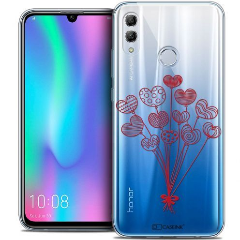 "Carcasa Crystal Gel Extra Fina Huawei Honor 10 LITE (5.8"") Love Ballons d'amour"
