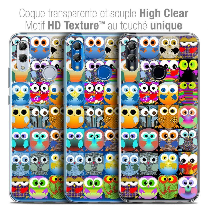 "Carcasa Crystal Gel Extra Fina Huawei Honor 10 LITE (5.8"") Claude Hibous"