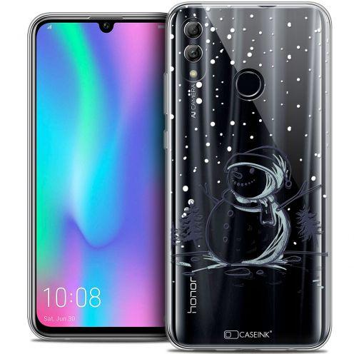 """Carcasa Crystal Gel Extra Fina Huawei Honor 10 LITE (5.8"""") Noël 2017 Bonhomme de Neige"""
