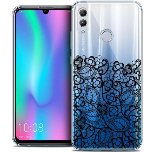 "Carcasa Crystal Gel Extra Fina Huawei Honor 10 LITE (5.8"") Spring Bas dentelle Noir"
