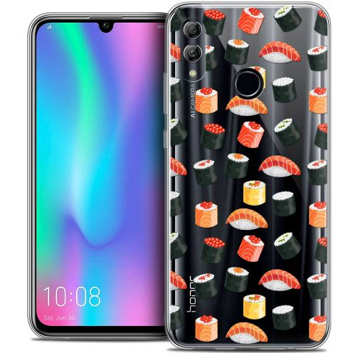 "Carcasa Crystal Gel Extra Fina Huawei Honor 10 LITE (5.8"") Foodie Sushi"