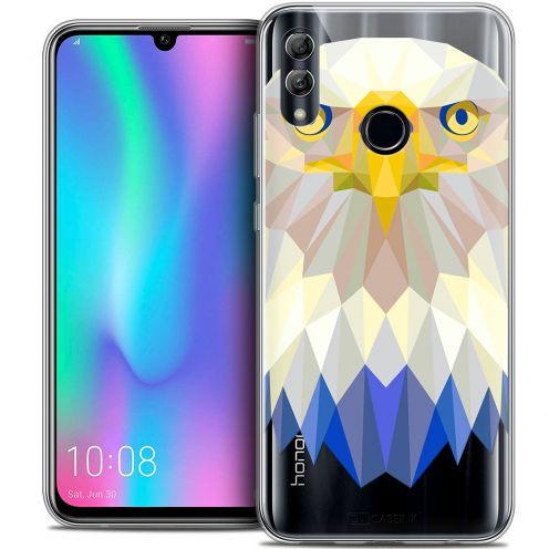 "Carcasa Crystal Gel Extra Fina Huawei Honor 10 LITE (5.8"") Polygon Animals Águila"
