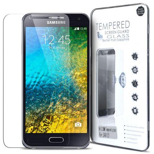 Protección de pantalla de vidrio templado Samsung Galaxy E5 Glass Pro+ 9H Ultra HD 0.33 mm