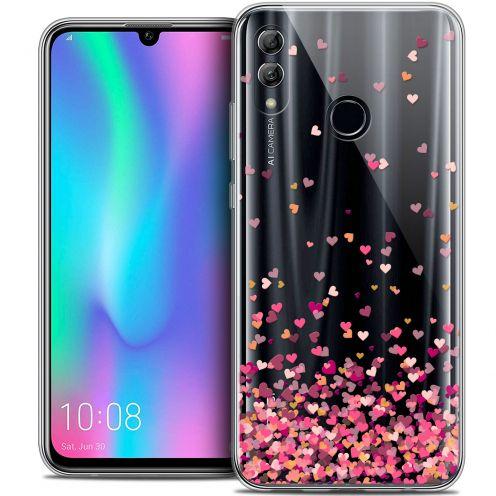 "Carcasa Crystal Gel Extra Fina Huawei Honor 10 LITE (5.8"") Sweetie Heart Flakes"