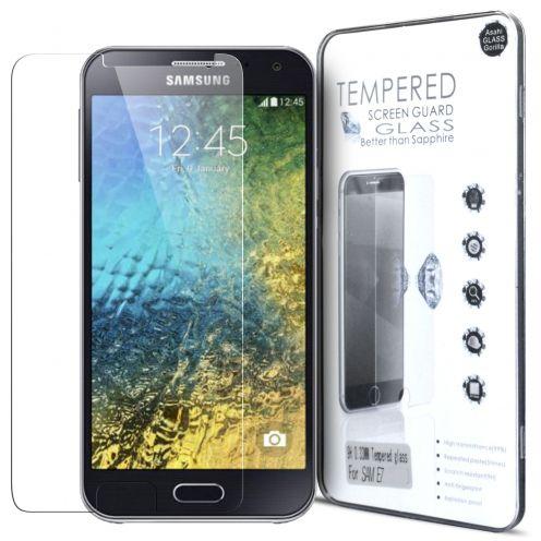 Protección de pantalla de vidrio templado Samsung Galaxy E7 Glass Pro+ 9H Ultra HD 0.33 mm
