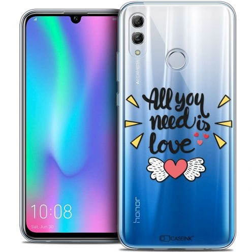 "Carcasa Crystal Gel Extra Fina Huawei Honor 10 LITE (5.8"") Love All U Need Is"