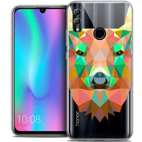 """Carcasa Crystal Gel Extra Fina Huawei Honor 10 LITE (5.8"""") Polygon Animals Ciervo"""