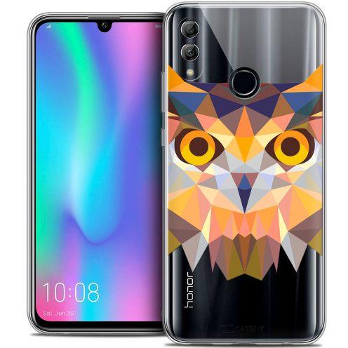 "Carcasa Crystal Gel Extra Fina Huawei Honor 10 LITE (5.8"") Polygon Animals Búho"