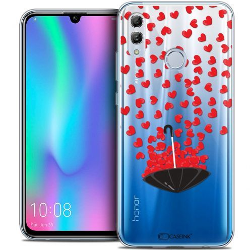 "Carcasa Crystal Gel Extra Fina Huawei Honor 10 LITE (5.8"") Love Parapluie d'Amour"