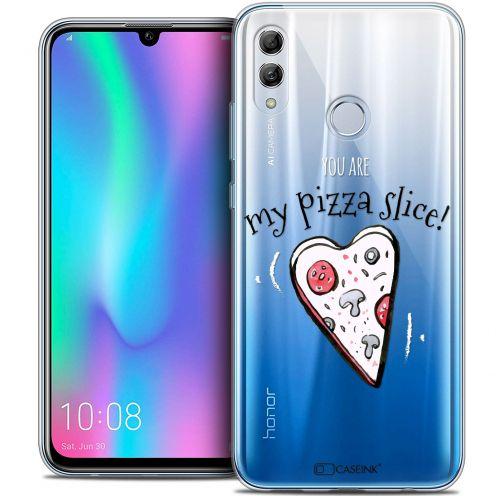 "Carcasa Crystal Gel Extra Fina Huawei Honor 10 LITE (5.8"") Love My Pizza Slice"