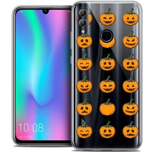 "Carcasa Crystal Gel Extra Fina Huawei Honor 10 LITE (5.8"") Halloween Smiley Citrouille"