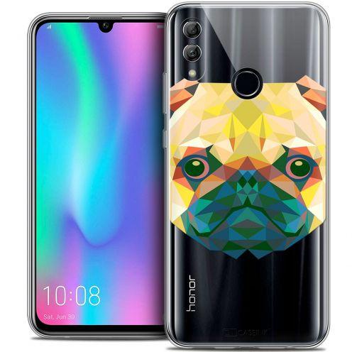 "Carcasa Crystal Gel Extra Fina Huawei Honor 10 LITE (5.8"") Polygon Animals Perro"