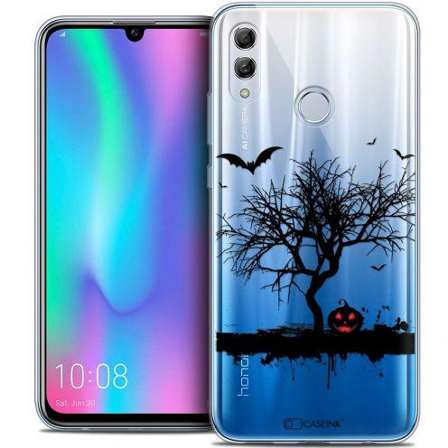 "Carcasa Crystal Gel Extra Fina Huawei Honor 10 LITE (5.8"") Halloween Devil's Tree"