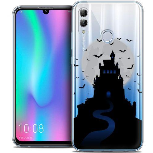 "Carcasa Crystal Gel Extra Fina Huawei Honor 10 LITE (5.8"") Halloween Castle Nightmare"
