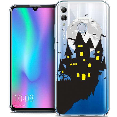 "Carcasa Crystal Gel Extra Fina Huawei Honor 10 LITE (5.8"") Halloween Castle Dream"