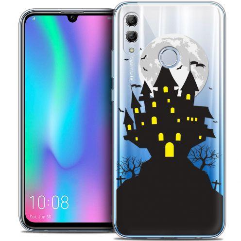 "Carcasa Crystal Gel Extra Fina Huawei Honor 10 LITE (5.8"") Halloween Castle Scream"