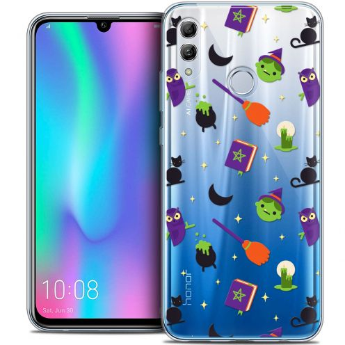 "Carcasa Crystal Gel Extra Fina Huawei Honor 10 LITE (5.8"") Halloween Witch Potter"