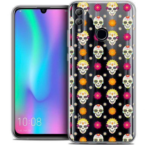 "Carcasa Crystal Gel Extra Fina Huawei Honor 10 LITE (5.8"") Halloween Skull Halloween"