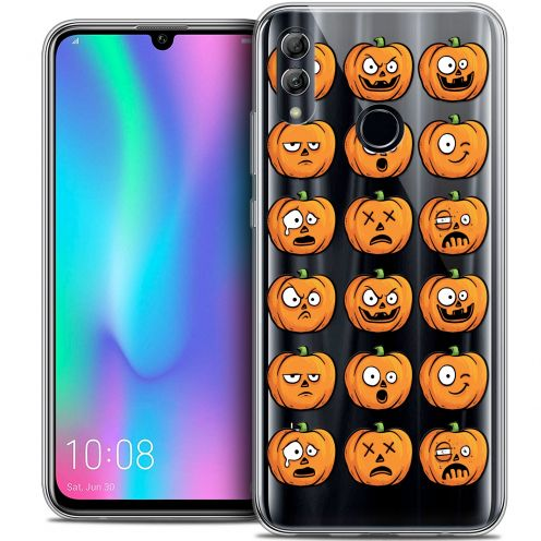 "Carcasa Crystal Gel Extra Fina Huawei Honor 10 LITE (5.8"") Halloween Cartoon Citrouille"