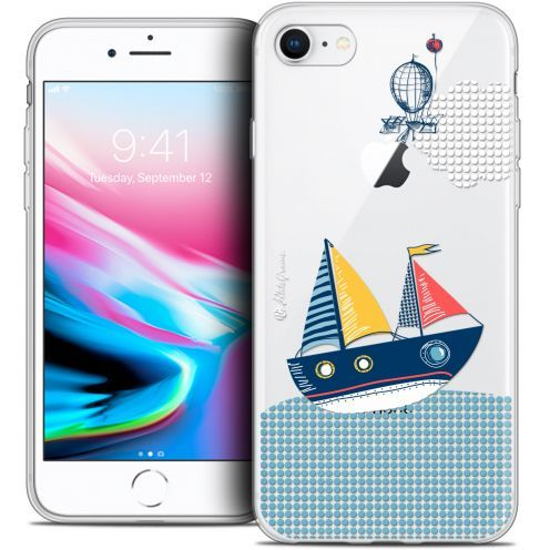 "Carcasa Crystal Gel Extra Fina Apple iPhone 8 (4.7"") Petits Grains® MVE Le Bateau"
