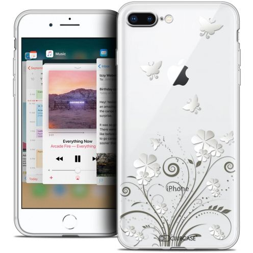 "Carcasa Crystal Gel Extra Fina Apple iPhone 7 Plus (5.5"") Summer Papillons"