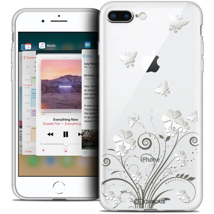 "Carcasa Crystal Gel Extra Fina Apple iPhone 7 Plus (5.5"") Summer Papillons"