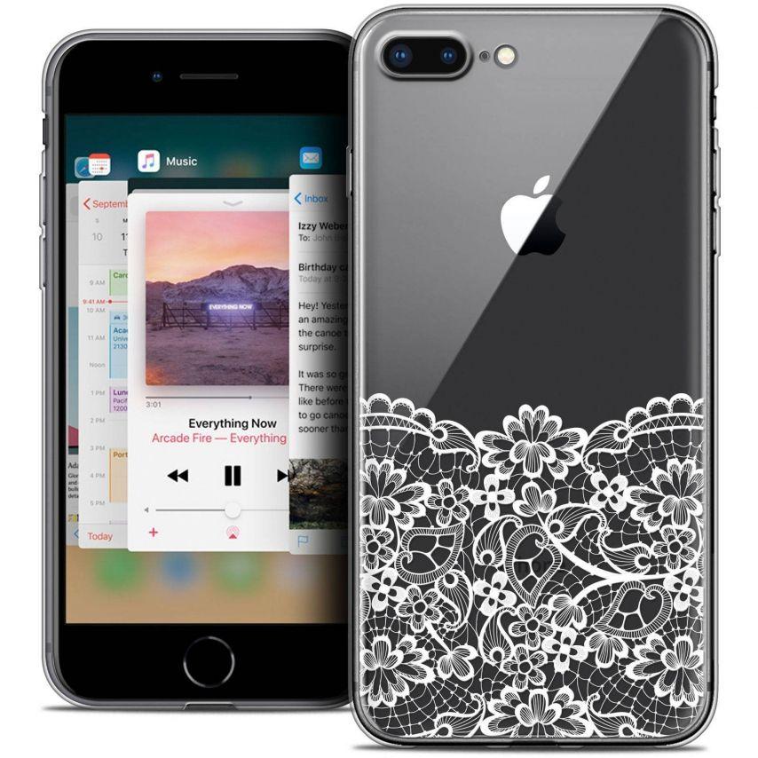 "Carcasa Crystal Gel Extra Fina Apple iPhone 7 Plus (5.5"") Spring Bas dentelle"