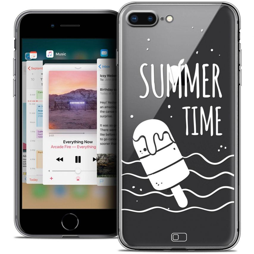 "Carcasa Crystal Gel Extra Fina Apple iPhone 7 Plus (5.5"") Summer Summer Time"