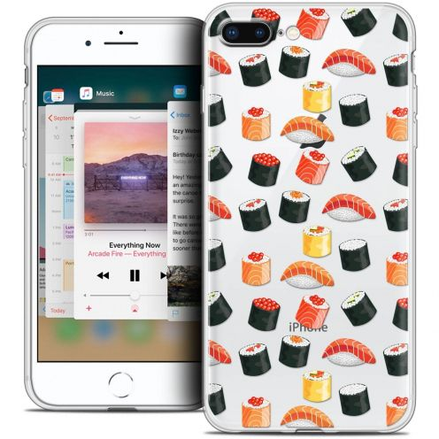 "Carcasa Crystal Gel Extra Fina Apple iPhone 7 Plus (5.5"") Foodie Sushi"