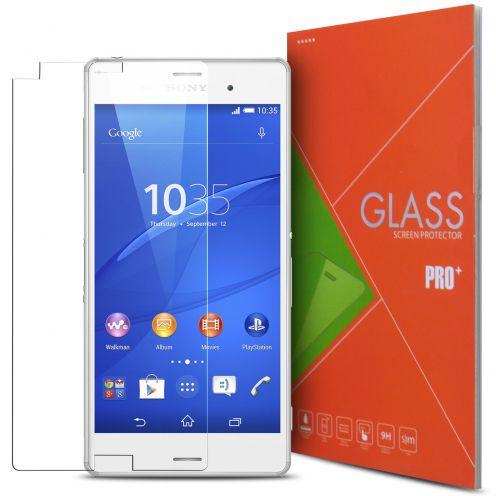 Protección de pantalla de vidrio templado Sony Xperia Z3 Compact Glass Pro+ 9H Ultra HD 0.33mm
