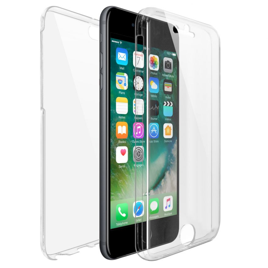Carcasa Apple iPhone 7/8 (4.7) TPU Gel Defense 360º Transparente