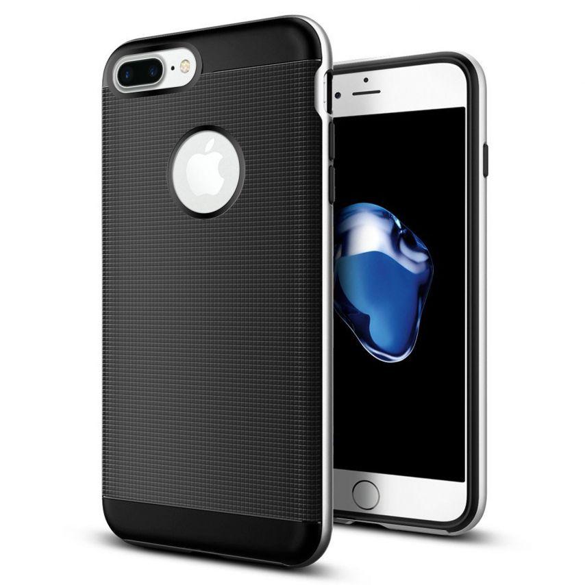 Carcasa Apple iPhone 7/8 Plus/+ (5.5) Neo Bumper Hybrid™ Series Plata