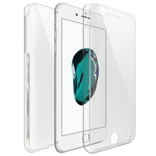 Carcasa Apple iPhone 7/8 Plus (5.5) TPU Gel Defense 360º Transparente