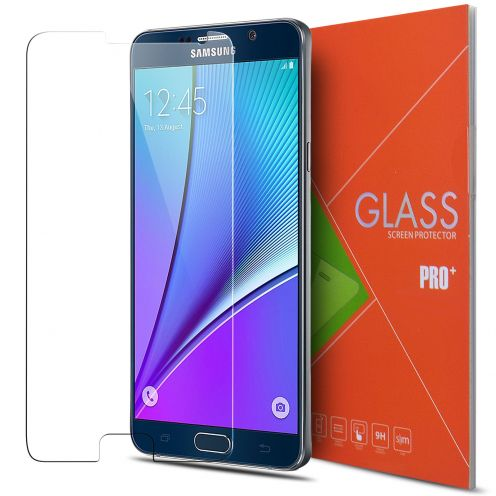 Protección de pantalla de vidrio templado Samsung Galaxy Note 5 Glass Pro+ 9H Ultra HD 0.33mm