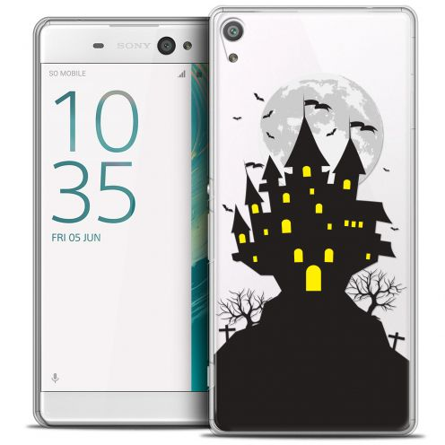 "Carcasa Crystal Extra Fina Sony Xperia XA Ultra 6"" Halloween Castle Scream"