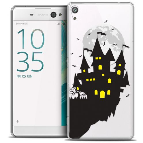 "Carcasa Crystal Extra Fina Sony Xperia XA Ultra 6"" Halloween Castle Dream"