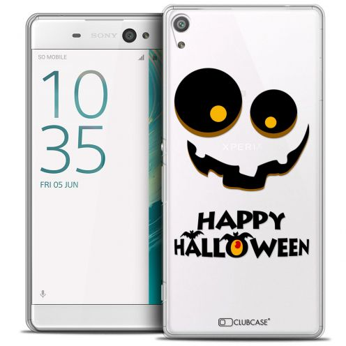 "Carcasa Crystal Extra Fina Sony Xperia XA Ultra 6"" Halloween Happy"