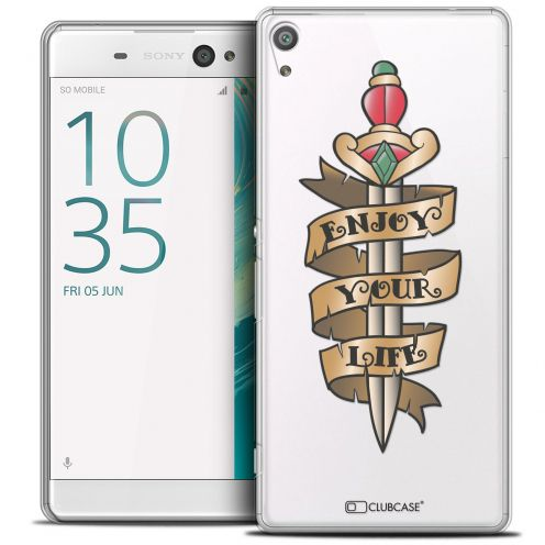 "Carcasa Crystal Extra Fina Sony Xperia XA Ultra 6"" Tatoo Lover Enjoy Life"