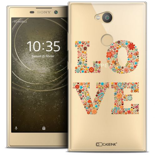 "Carcasa Crystal Gel Extra Fina Sony Xperia L2 (5.5"") Summer Love Flowers"