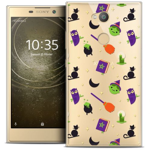 """Carcasa Crystal Gel Extra Fina Sony Xperia L2 (5.5"""") Halloween Witch Potter"""